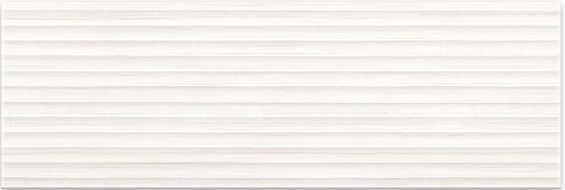 Плитка Elegant Stripes White Structure 25x75 (O-ELS-WTU052)